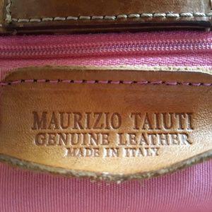 Maurizio Taiuti Bags - -SOLD- MAURIZIO TAIUTI LARGE HAND PAINTED LEATHER